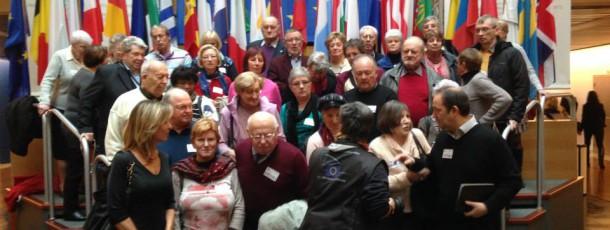 Groupes de visiteurs du Brabant wallon et de Bruxelles