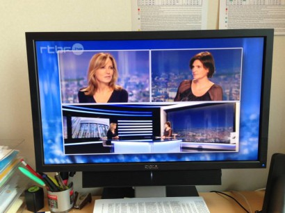 JT du 13h RTBF – interview sur les lobbies du tabac
