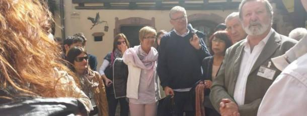 Un groupe de Welkenraedt visite l'Alsace et le Parlement européen