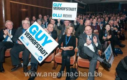 Congrès du parti ALDE: le duo Guy Verhofstadt – Oli Rehn élu à 79,3%!
