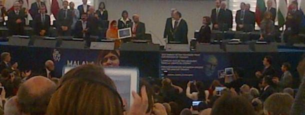 Prix Sakharov: Hommage à Malala Yousafzai
