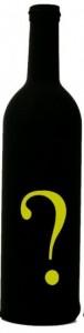 Q mark bottle