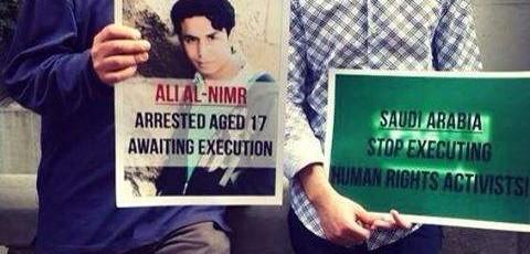 Arabie Saoudite : cinquième anniversaire dans le couloir de la mort pour le jeune Ali al-Nimr