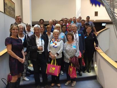 La section MR de Habay en visite au Parlement européen à Bruxelles