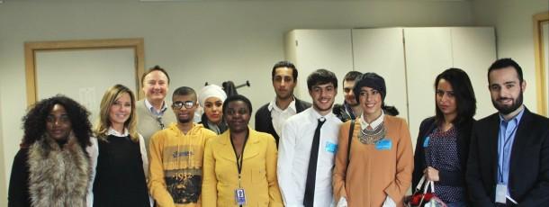 Journée jeunes visiteurs ALDE au Parlement européen