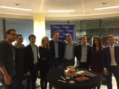 Une soirée très sympathique et des échanges des plus intéressants avec de jeunes libéraux motivés !