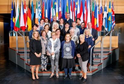 Le MR de Pont-à-Celles en visite au Parlement de Strasbourg