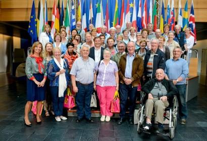 Le Conseil consultatif des Aînés de Welkenraedt en visite au Parlement Européen à Strasbourg
