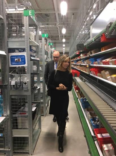 Visite de PharmaBelgium à Grimbergen