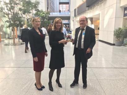 Remise du prix de leader politique 2017 par Eurordis
