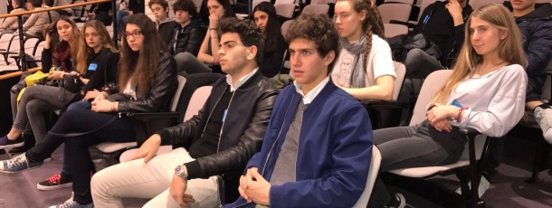 Les 4èmes de Ganenou au Parlement européen de Bruxelles