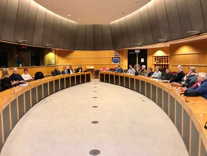 Visite du MR Koeklberg au Parlement européen