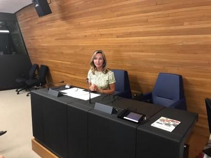 Visite des jeunes de l'Athénée Royal d'Arlon au Parlement européen de Strasbourg