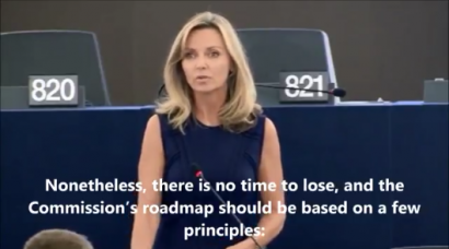 Débat en plénière à Strasbourg sur le Glyphosate – Frédérique Ries 13 juin 2017