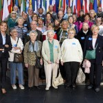 Visitors group Frederique RIES